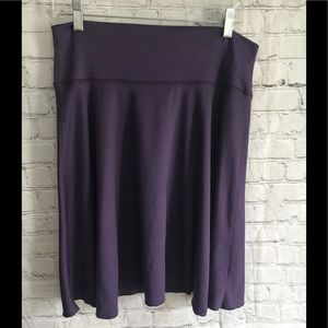 Stonewear Designs purple athletic circle skirt